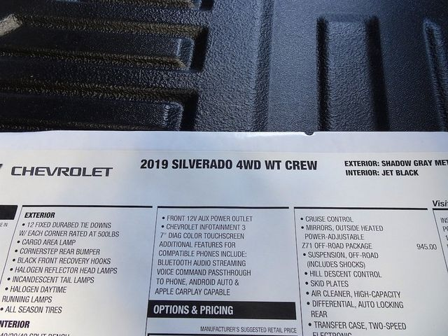2019 Chevrolet Silverado 1500 Work Truck Madison, NC 44