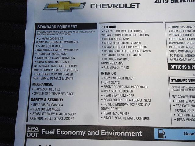 2019 Chevrolet Silverado 1500 Work Truck Madison, NC 46