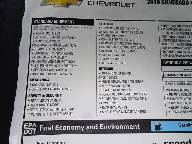 2019 Chevrolet Silverado 1500 Work Truck Madison, NC 47