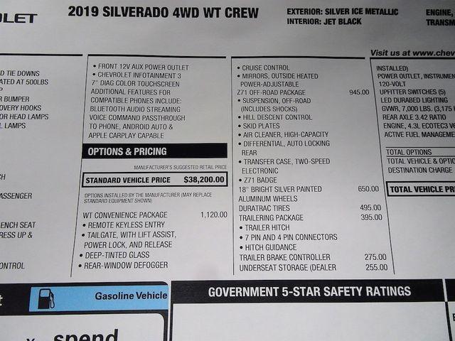 2019 Chevrolet Silverado 1500 Work Truck Madison, NC 48