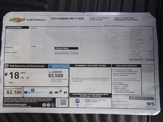 2019 Chevrolet Silverado 1500 LT Madison, NC 48