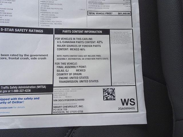 2019 Chevrolet Silverado 1500 LTZ Madison, NC 59
