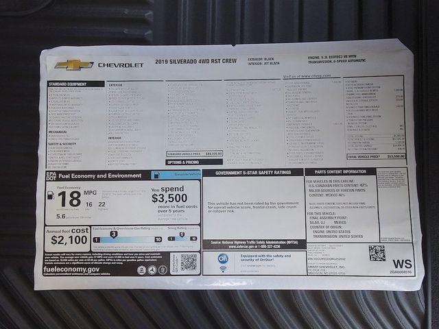 2019 Chevrolet Silverado 1500 RST Madison, NC 47