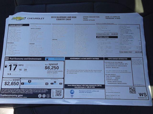 2019 Chevrolet Silverado 1500 High Country Madison, NC 50