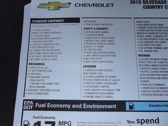 2019 Chevrolet Silverado 1500 High Country Madison, NC 53