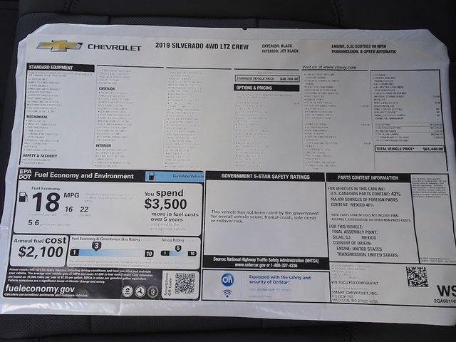2019 Chevrolet Silverado 1500 LTZ Madison, NC 56