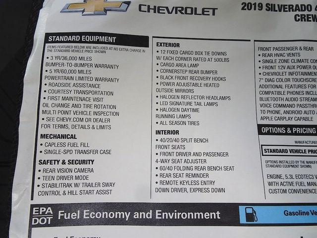 2019 Chevrolet Silverado 1500 Custom Madison, NC 47