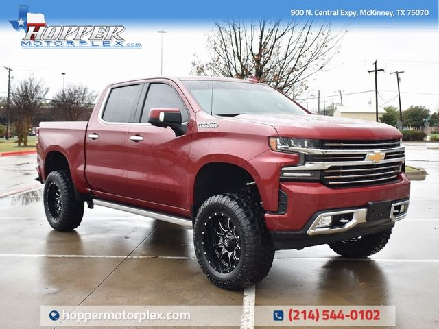 2019 Chevrolet Silverado 1500 High Country NEW LIFT/CUSTOM WHEELS AND TIRES