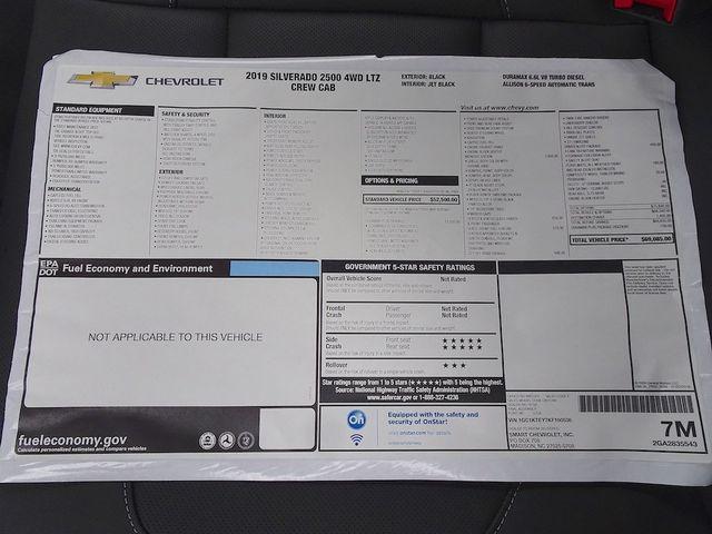 2019 Chevrolet Silverado 2500HD LTZ Madison, NC 51