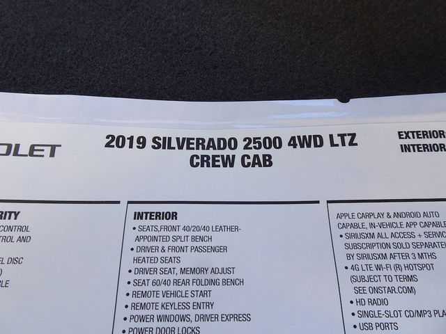 2019 Chevrolet Silverado 2500HD LTZ Madison, NC 53