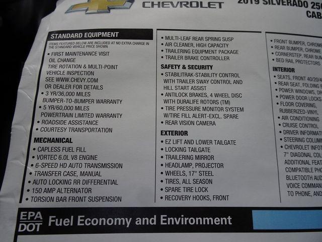 2019 Chevrolet Silverado 2500HD Work Truck Madison, NC 49