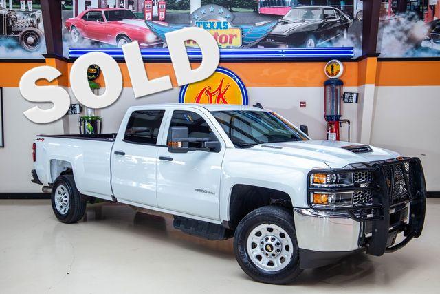2019 Chevrolet Silverado 3500HD Work Truck SRW 4x4