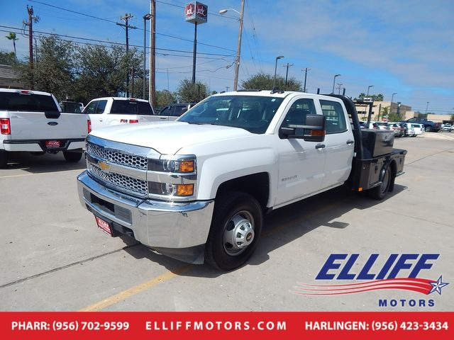 2019 Chevrolet Silverado 3500HD Flatbed Crew Cab 4x4 in Harlingen, TX 78550