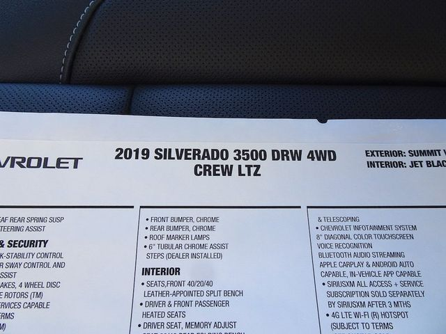 2019 Chevrolet Silverado 3500HD LTZ Madison, NC 53