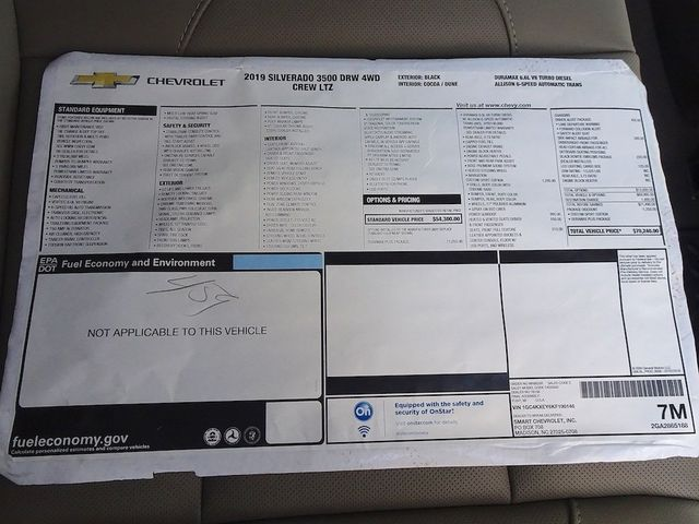 2019 Chevrolet Silverado 3500HD LTZ Madison, NC 51