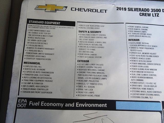 2019 Chevrolet Silverado 3500HD LTZ Madison, NC 54