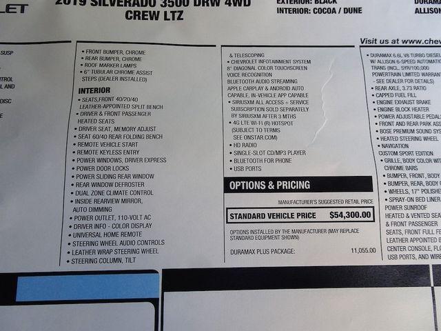 2019 Chevrolet Silverado 3500HD LTZ Madison, NC 55
