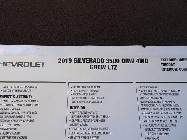 2019 Chevrolet Silverado 3500HD LTZ Madison, NC 53