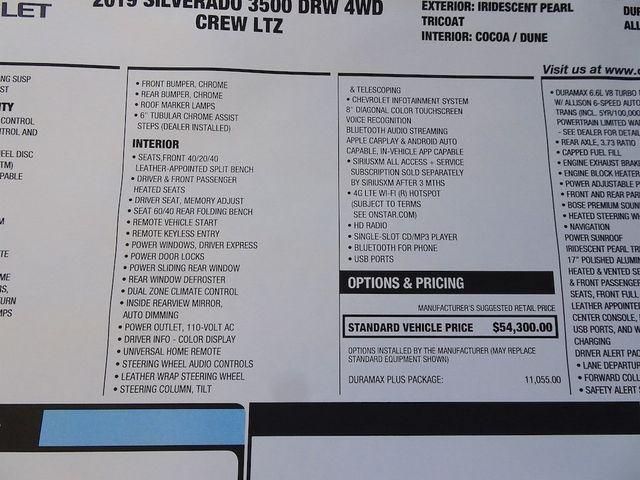 2019 Chevrolet Silverado 3500HD LTZ Madison, NC 56