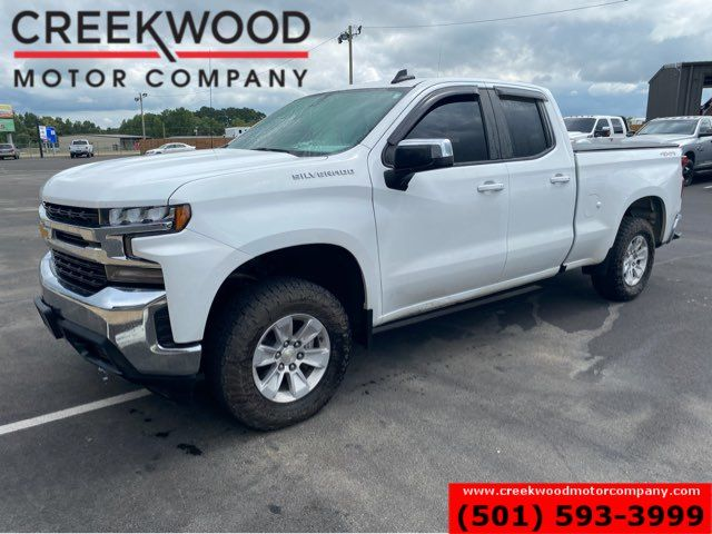 2019 Chevrolet Silverado 1500 LT Double Cab 4x4 1 Owner White Financing NewTires