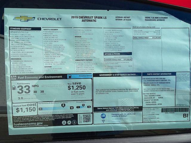 2019 Chevrolet Spark LS Madison, NC 42