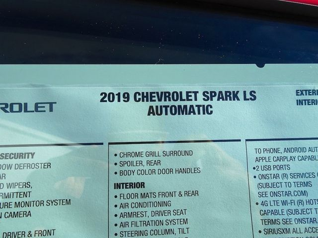 2019 Chevrolet Spark LS Madison, NC 43