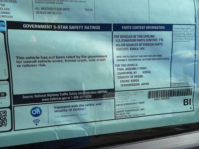 2019 Chevrolet Spark LS Madison, NC 49