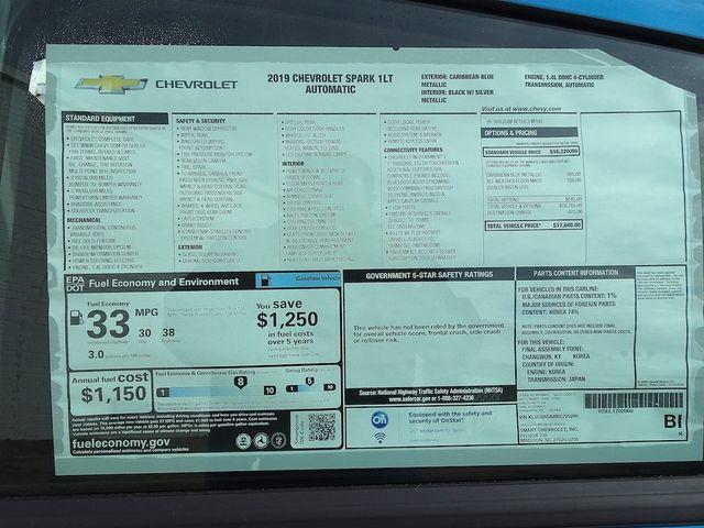 2019 Chevrolet Spark LT Madison, NC 41