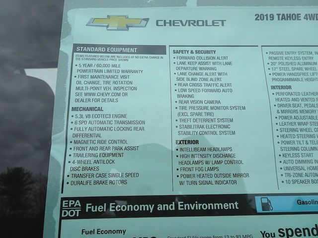 2019 Chevrolet Tahoe Premier Madison, NC 58