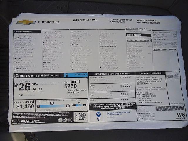 2019 Chevrolet Trax LT Madison, NC 42
