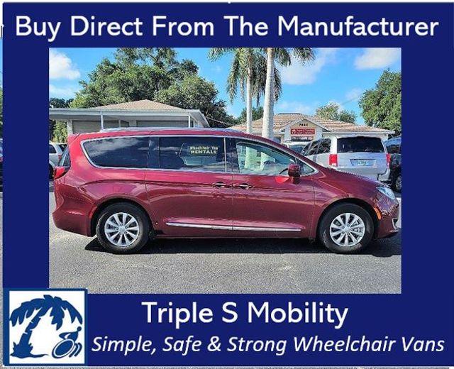 2019 Chrysler Pacifica Touring L Wheelchair Van Handicap Ramp Van