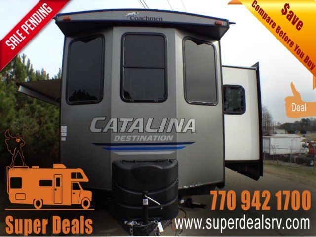 2019 Coachmen Catalina Destination 39FKTS