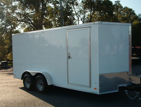 2019 Covered Wagon 7x16 Enclosed 5 ton Trailer 6' 6