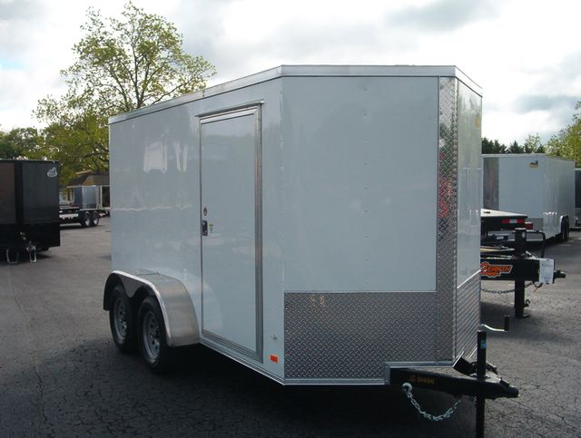 """2019 Covered Wagon Enclosed 6x12 6'3"""" Interior Height"""