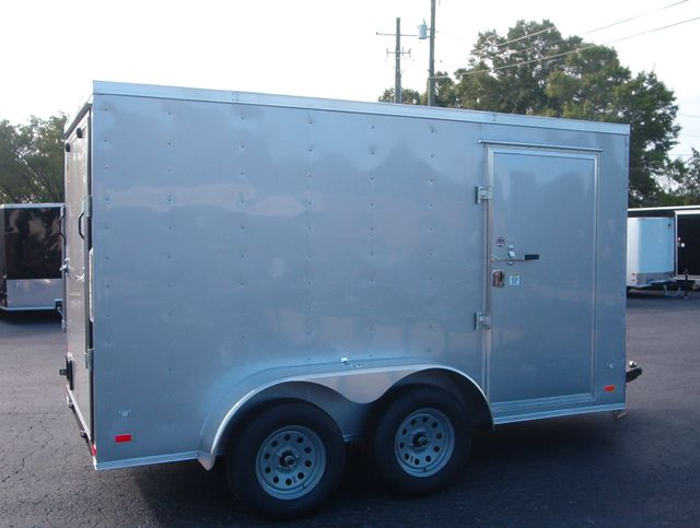 """2019 Covered Wagon Enclosed 6x12 6'3"""" Interior Height in Madison, Georgia 30650"""
