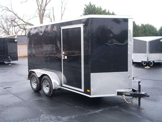 """2019 Covered Wagon Enclosed 6x12 6' 3"""" Interior Height"""