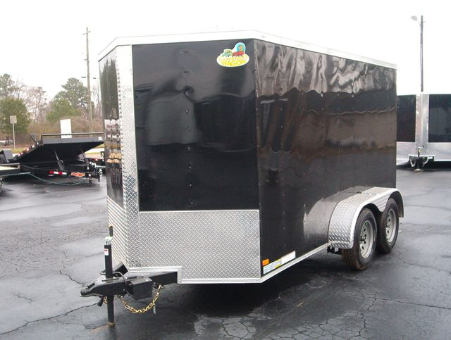 """2019 Covered Wagon Enclosed 6x12 6' 3"""" Interior Height in Madison, Georgia 30650"""