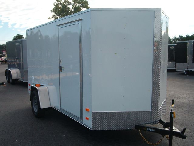"""2019 Covered Wagon Enclosed 6x12 6'6"""" Interior Height"""
