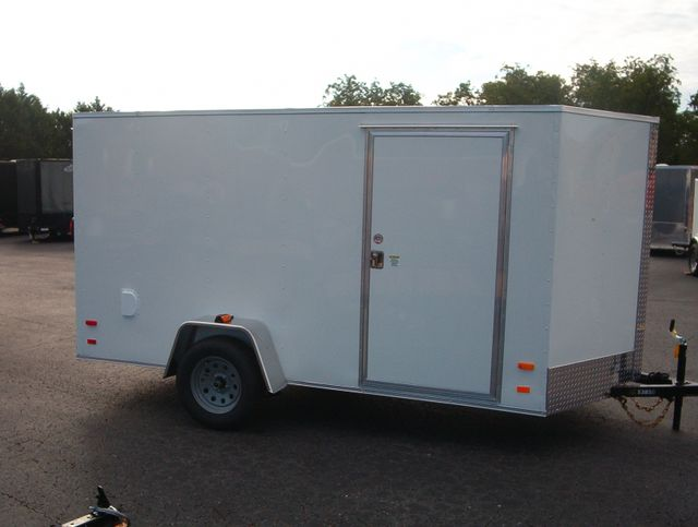 """2019 Covered Wagon Enclosed 6x12 6'6"""" Interior Height in Madison, Georgia 30650"""