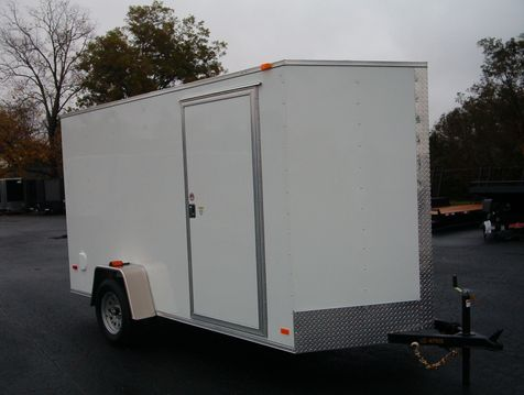 2019 Covered Wagon Enclosed 6x12 6' 6