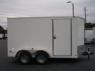 2019 Covered Wagon Enclosed 6x12 Tandem 66 Interior Height   city Georgia  Youngblood Motor Company Inc  in Madison, Georgia