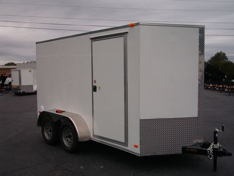 2019 Covered Wagon Enclosed 6x12 Tandem 6