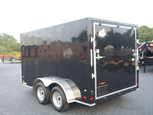 """2019 Covered Wagon Enclosed 7x12 6,3"""" interior Height in Madison, Georgia 30650"""