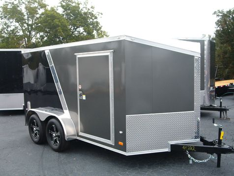2019 Covered Wagon Enclosed 7x12 Motorcycle  in Madison