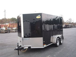 2019 Covered Wagon Enclosed 7X12 Trailer 6 6 Interior Height   city Georgia  Youngblood Motor Company Inc  in Madison, Georgia