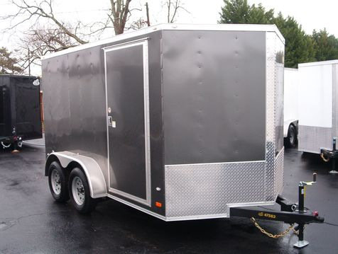 2019 Covered Wagon Enclosed 7X12 Trailer 6' 6