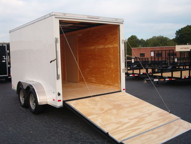 "2019 Covered Wagon Enclosed 7X12 Trailer 6' 6"" Interior Height in Madison, Georgia 30650"