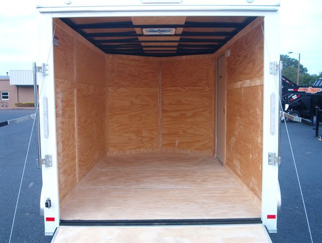 """2020 Covered Wagon Enclosed 7X12 Trailer 6' 6"""" Interior Height in Madison, Georgia 30650"""