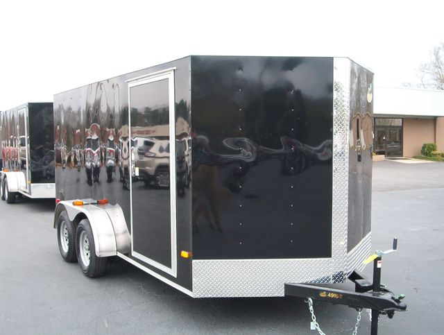 """2019 Covered Wagon Enclosed 7x14 6'6"""" Interior Height"""
