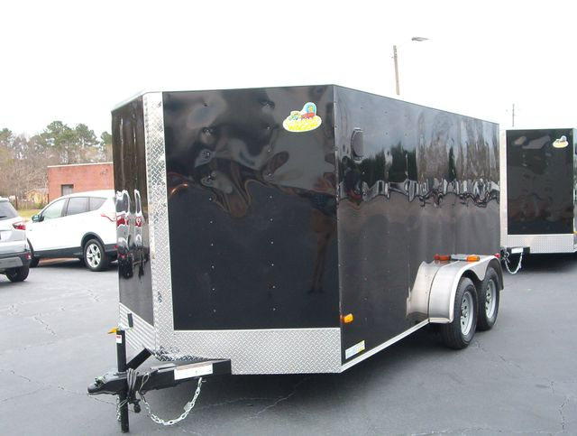 """2019 Covered Wagon Enclosed 7x14 6'6"""" Interior Height in Madison, Georgia 30650"""